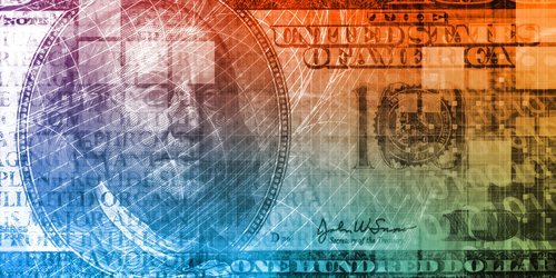 colorful money