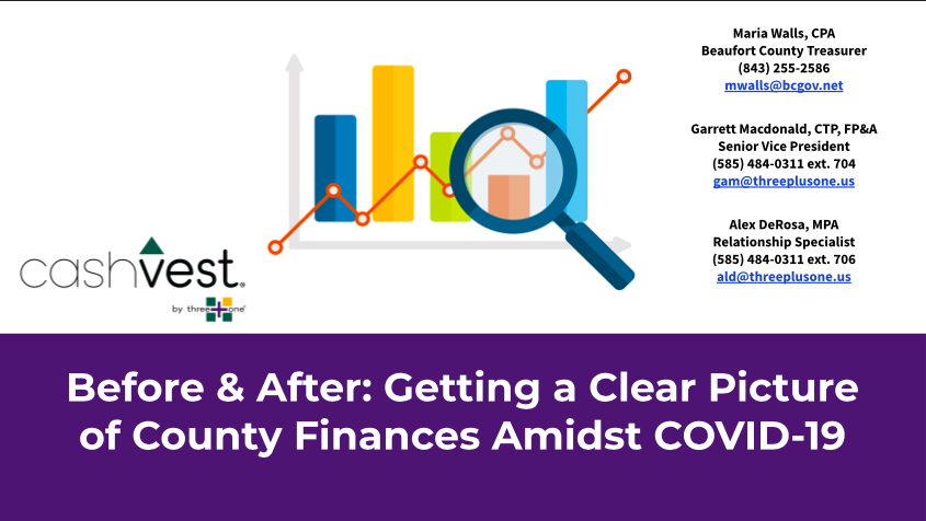Before and After: Getting a Clear Picture of County Finances Amidst COVID-19