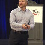 Garrett Macdonald speaks to NACo Conference
