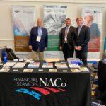 Joe Rulison & three+one team at NACo-FSC booth