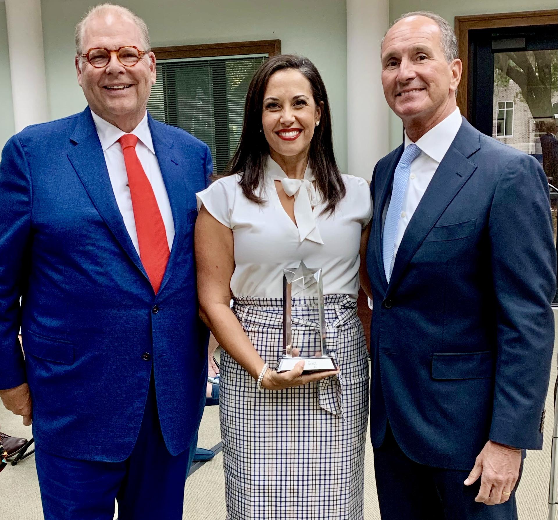 Maria Walls cashvest three+one Leadership Award